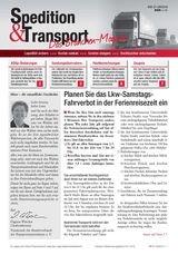 Spedition & Transport – Das Branchen-Magazin, 2013 (Cover)