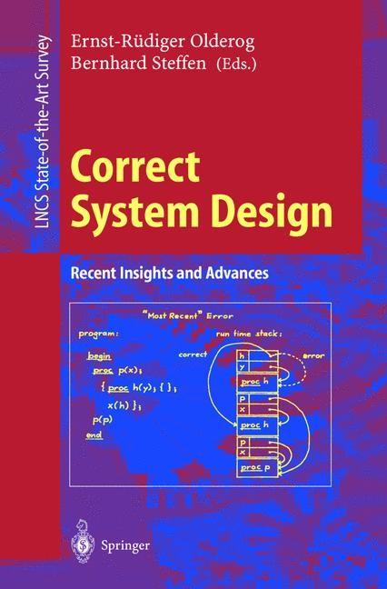 Correct System Design   Olderog / Steffen, 1999   Buch (Cover)