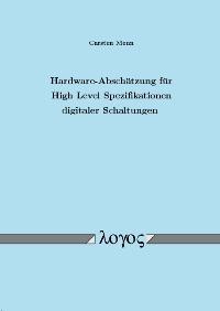 Abbildung von Menn | Hardware-Abschätzung für High Level Spezifikationen digitaler Schaltungen | 2005