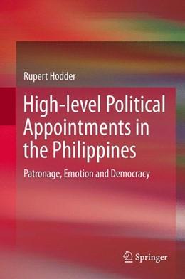 Abbildung von Hodder | High-level Political Appointments in the Philippines | 2013 | Patronage, Emotion and Democra...
