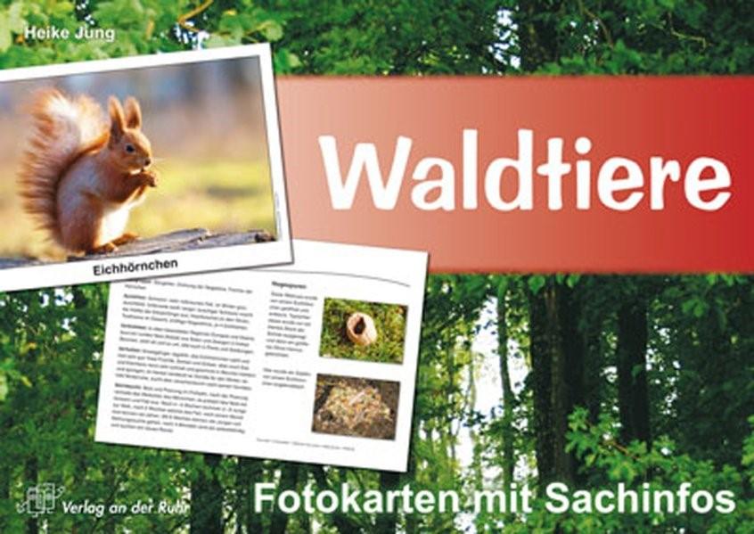 Waldtiere - Fotokarten mit Sachinfos | Jung, 2008 (Cover)