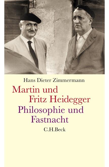 Cover: Hans Dieter Zimmermann, Martin und Fritz Heidegger