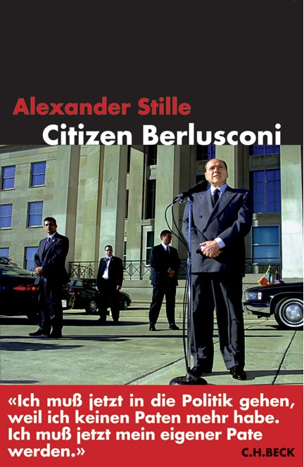 Cover: Alexander Stille, Citizen Berlusconi