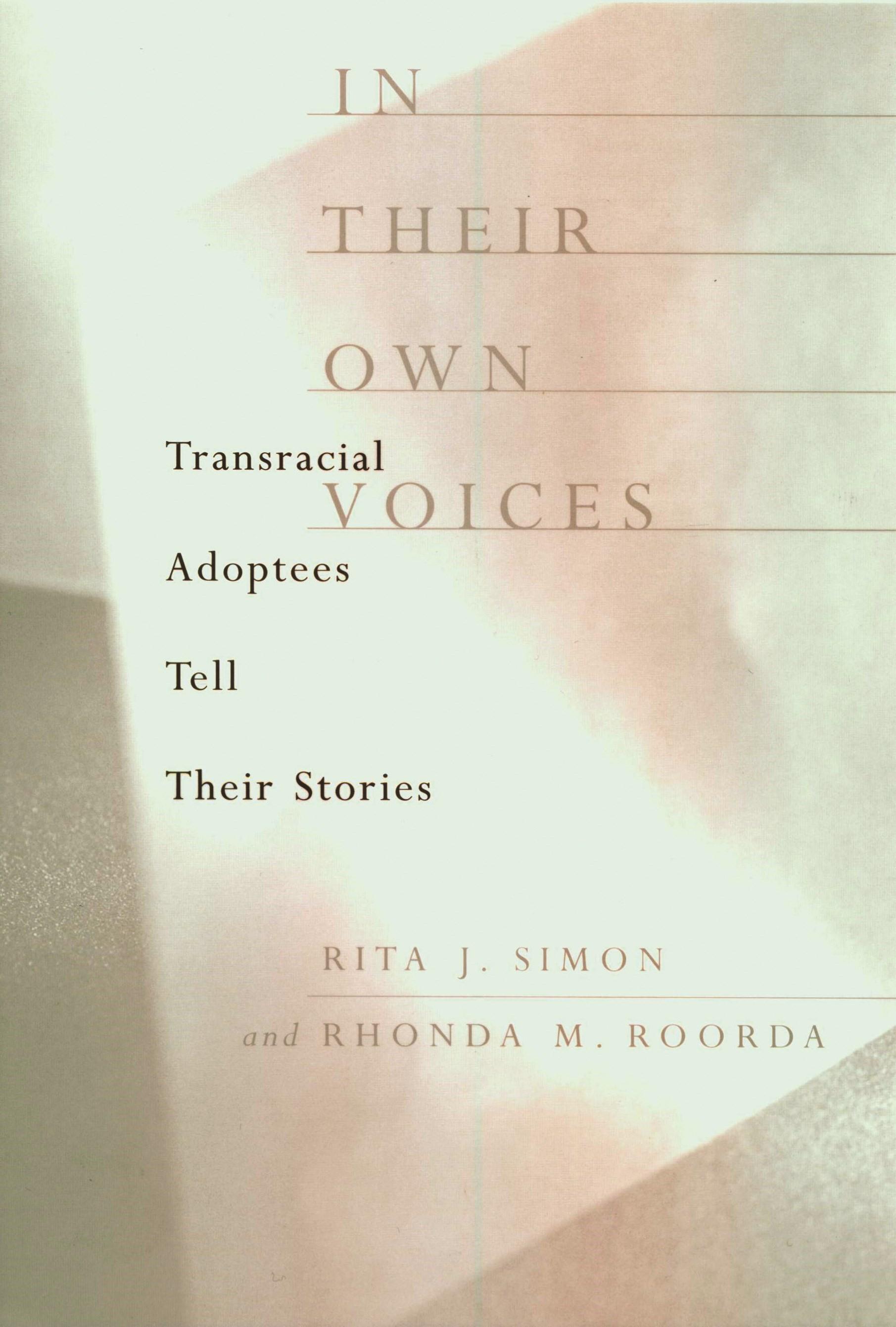 Abbildung von Simon / Roorda | In Their Own Voices | 2000