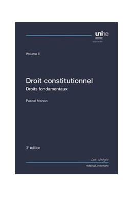 Abbildung von Mahon | Droit constitutionnel Volume II | 3. Auflage | 2015 | beck-shop.de