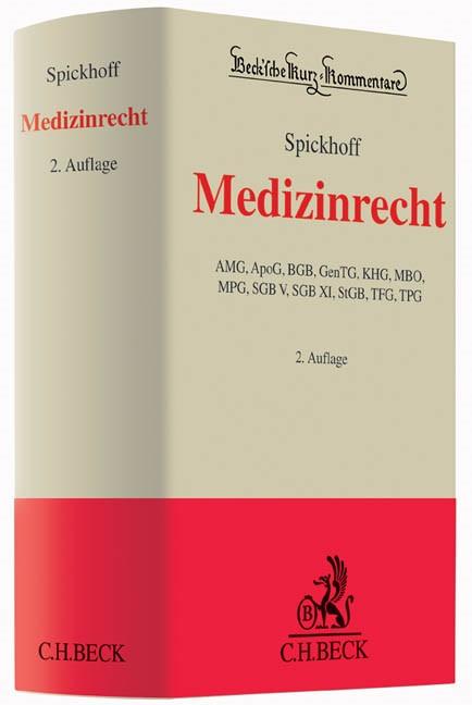 Medizinrecht | Spickhoff | Buch (Cover)