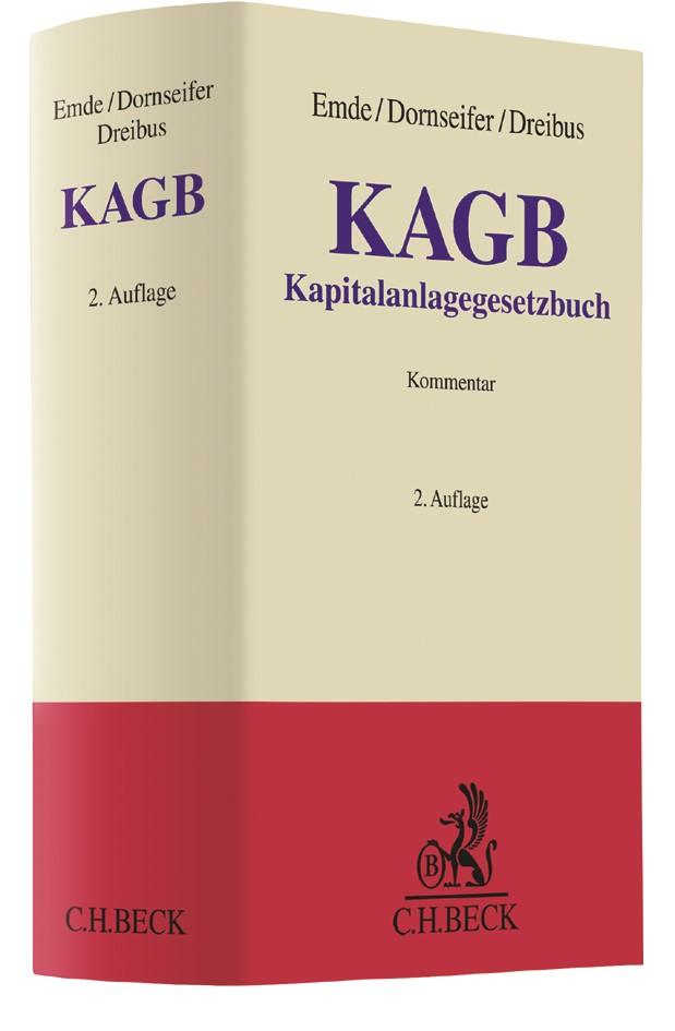 KAGB | Emde / Dornseifer / Dreibus | 2. Auflage, 2019 | Buch (Cover)