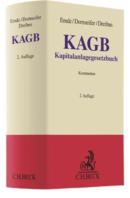 Abbildung von Emde / Dornseifer / Dreibus | KAGB | 2. Auflage | 2019 | Kapitalanlagegesetzbuch