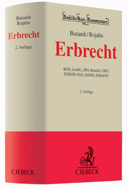 Erbrecht | Burandt/Rojahn | 2., neubearbeitete Auflage, 2014 | Buch (Cover)