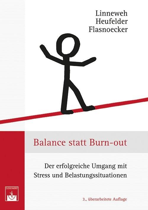Balance statt Burn-out | Linneweh / Heufelder / Flasnoecker, 2013 | Buch (Cover)