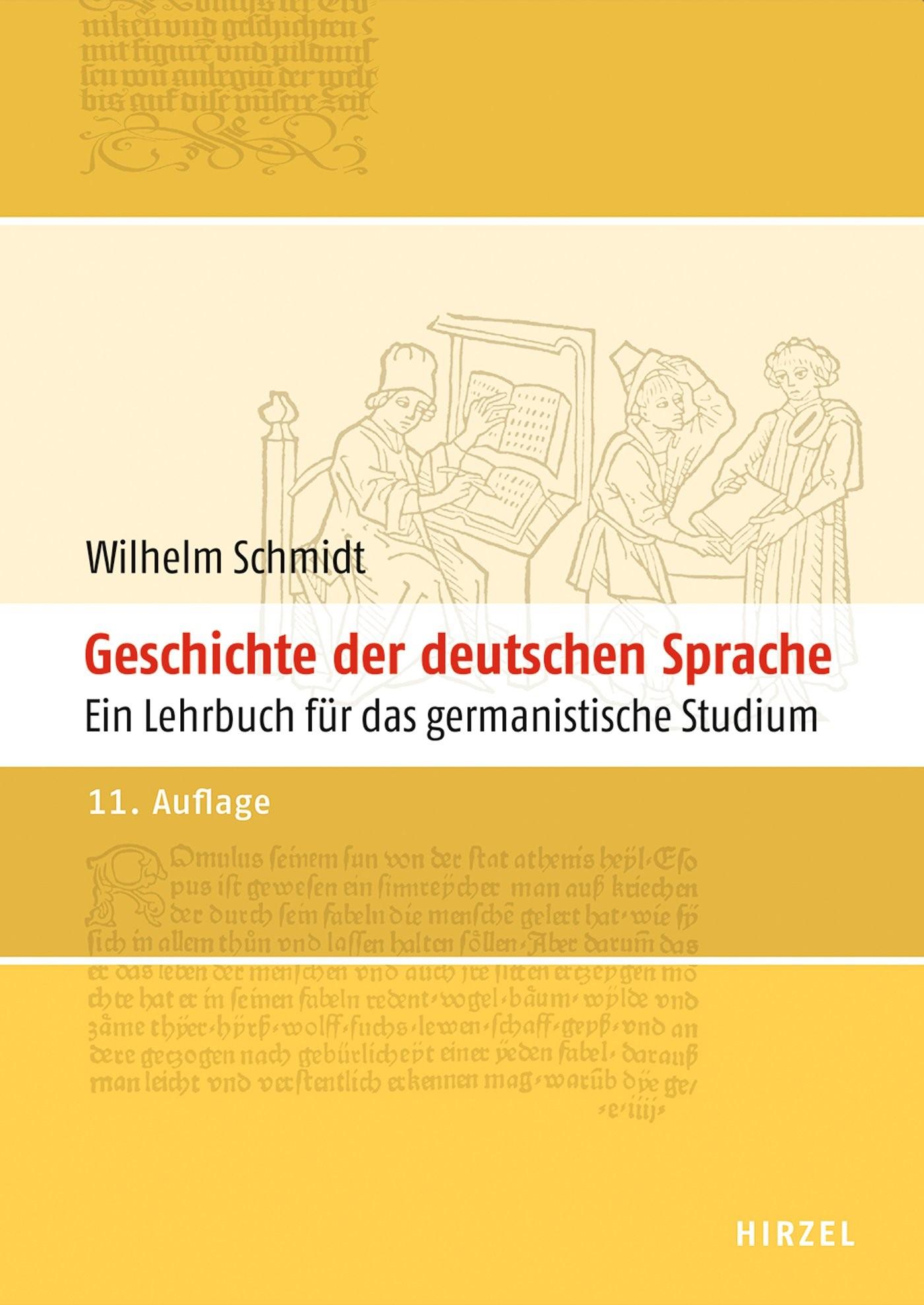 Abbildung von Geschichte der deutschen Sprache | 2013