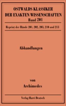 Abbildung von Abhandlungen (Archimedes) | 2009