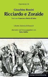Gioachino Rossini: Ricciardo e Zoraide | Müller, 2013 | Buch (Cover)