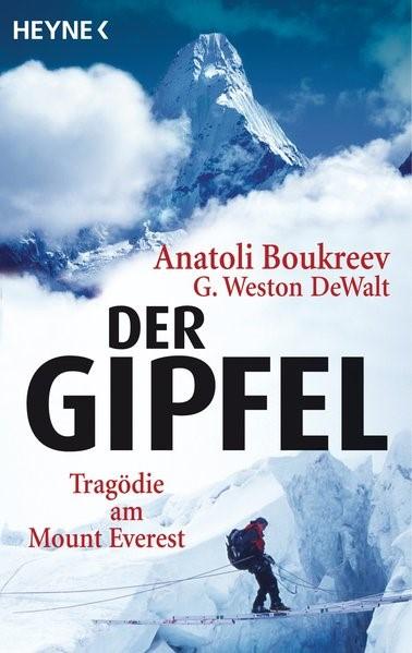 Der Gipfel | Boukreev / DeWalt, 2008 | Buch (Cover)