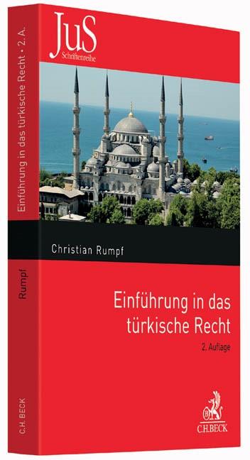 Einführung in das türkische Recht | Rumpf | 2., grundlegend überarbeitete Auflage, 2016 | Buch (Cover)