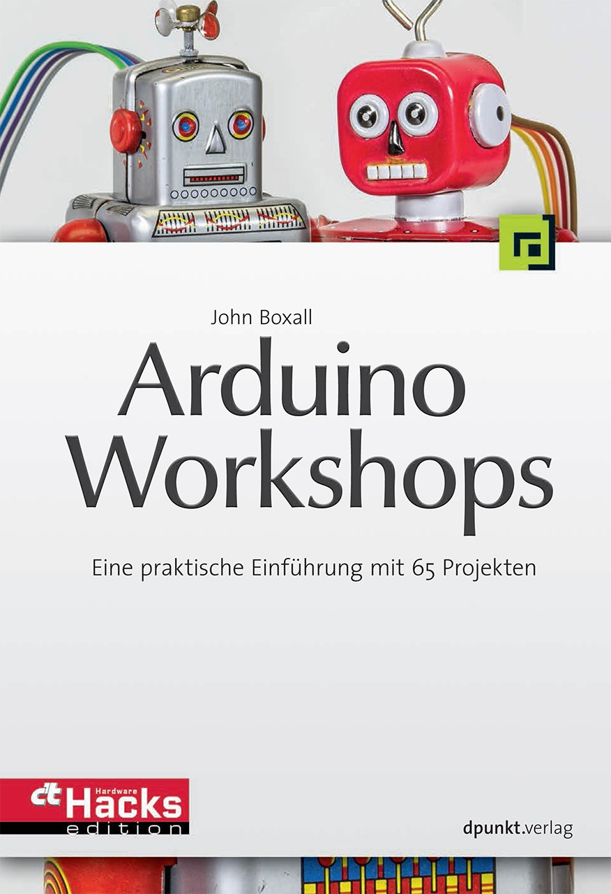 Arduino-Workshops | Boxall, 2013 | Buch (Cover)