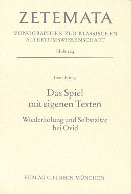 Abbildung von Frings, Irene | Das Spiel mit eigenen Texten | 2005 | Wiederholung und Selbstzitat b... | Heft 124