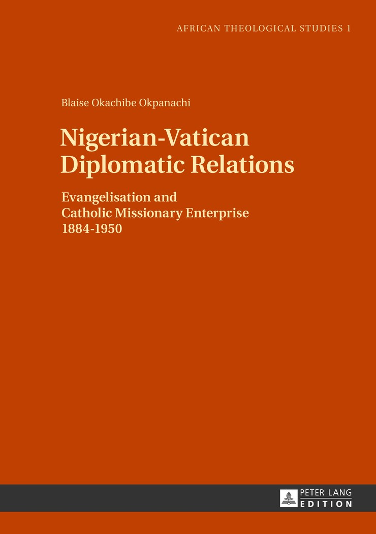 Nigerian-Vatican Diplomatic Relations | Okpanachi, 2013 | Buch (Cover)