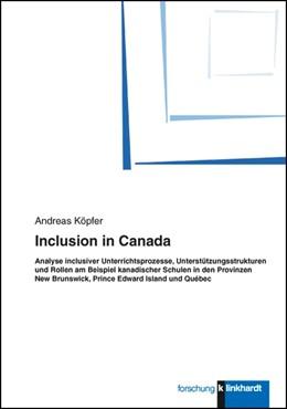 Abbildung von Köpfer | Inclusion in Canada | 2013 | Analyse inclusiver Unterrichts...