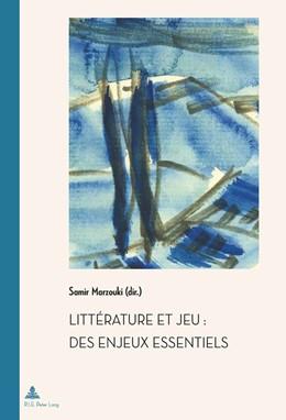 Abbildung von Marzouki | Littérature et jeu : des enjeux essentiels | 2013 | 28