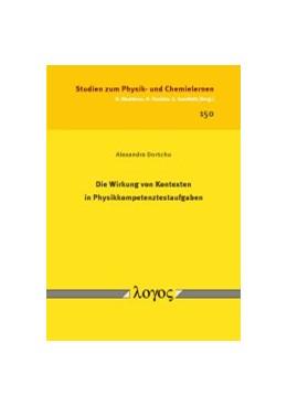 Abbildung von Dorschu | Die Wirkung von Kontexten in Physikkompetenztestaufgaben | 2013 | 150