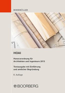 Abbildung von Rohrmüller | HOAI | 8. Auflage | 2013 | beck-shop.de