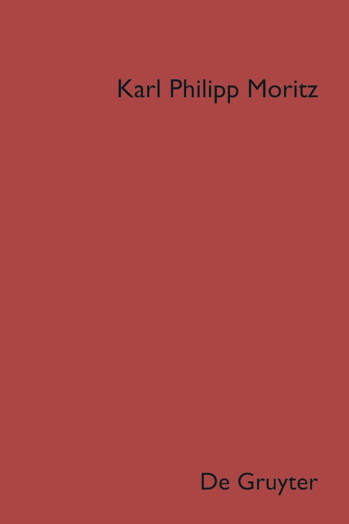 Denkwürdigkeiten | Moritz / Stockinger, 2019 | Buch (Cover)