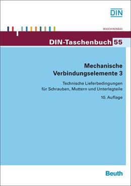 Abbildung von Mechanische Verbindungselemente 3 | 10. Auflage | 2013 | 55 | beck-shop.de