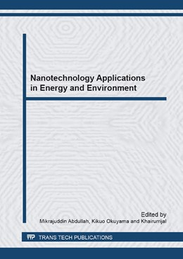 Abbildung von Abdullah / Okuyama | Nanotechnology Applications in Energy and Environment | 2013 | Selected, peer reviewed papers...