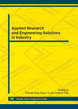 Abbildung von Wang / Xu | Applied Research and Engineering Solutions in Industry | 1. Auflage | 2013 | Volume 312 | beck-shop.de