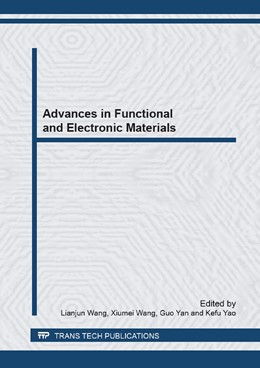 Abbildung von Wang / Yan | Advances in Functional and Electronic Materials | 1. Auflage | 2013 | Volumes 745-746 | beck-shop.de