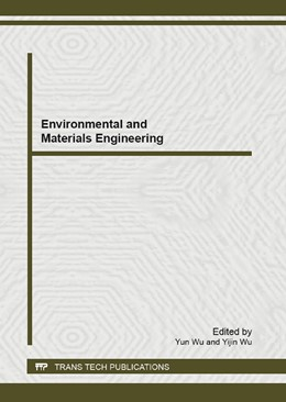 Abbildung von Wu | Environmental and Materials Engineering | 2013 | Selected, peer reviewed papers... | Volume 664