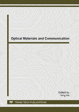 Abbildung von Ma | Optical Materials and Communication | 1. Auflage | 2013 | Volume 679 | beck-shop.de