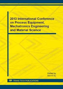 Abbildung von Xu | 2013 International Conference on Process Equipment, Mechatronics Engineering and Material Science | 2013 | Selected, peer reviewed papers... | Volume 331