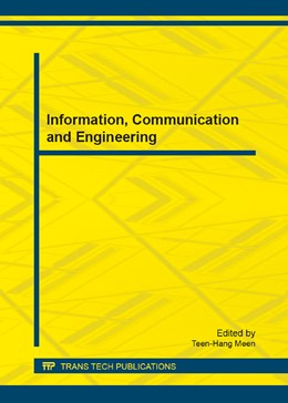 Abbildung von Meen | Information, Communication and Engineering | 2013 | Selected, peer reviewed papers... | Volume 311