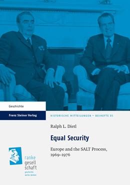 Abbildung von Dietl | Equal Security | 1. Auflage | 2013 | beck-shop.de