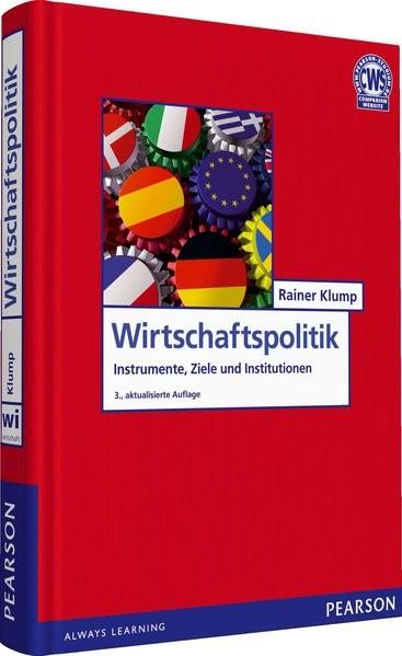 Wirtschaftspolitik | Klump | 3., aktualisierte Auflage., 2013 | Buch (Cover)