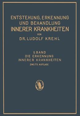 Abbildung von Krehl | Die Erkennung Innerer Krankheiten | 2. Aufl. 1931 | 1932 | 2