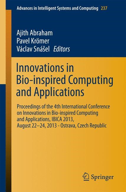 Innovations in Bio-inspired Computing and Applications | Abraham / Krömer / Snášel, 2013 | Buch (Cover)