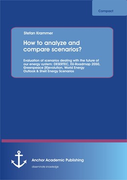 Abbildung von Krammer | How to analyze and compare scenarios? Evaluation of scenarios dealing with the future of our energy system | 2013 | DESERTEC, EU-Roadmap 2050, Gre...