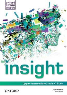 Abbildung von insight: Upper-Intermediate: Student's Book | 1. Auflage | 2014 | beck-shop.de