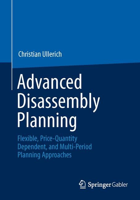 Advanced Disassembly Planning | Ullerich | 2014, 2013 | Buch (Cover)