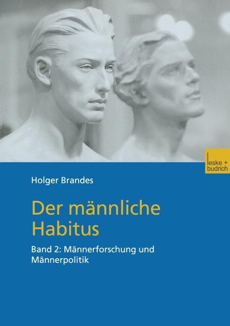 Der männliche Habitus   Brandes, 2002   Buch (Cover)
