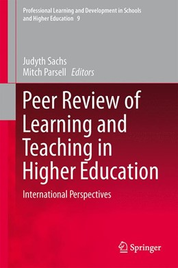 Abbildung von Sachs / Parsell | Peer Review of Learning and Teaching in Higher Education | 1. Auflage | 2013 | 9 | beck-shop.de