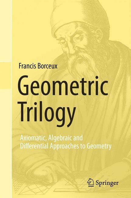 Geometric Trilogy | Borceux, 2013 | Buch (Cover)