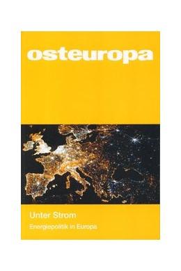 Abbildung von Sapper / Weichsel | Unter Strom | 2013 | Energiepolitik in Europa(Osteu...