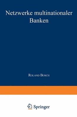 Abbildung von Bosch   Netzwerke multinationaler Banken   2000   Konzeptionelle Fundierung und ...