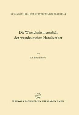 Abbildung von Schöber | Die Wirtschaftsmentalität der westdeutschen Handwerker | 1968 | 33