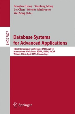 Abbildung von Hong / Meng / Chen / Winiwarter / Song   Database Systems for Advanced Applications   2013   18th International Conference,...