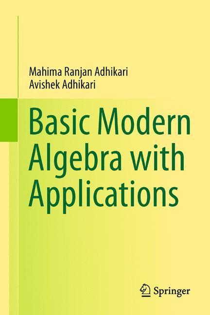 Basic Modern Algebra with Applications | Adhikari, 2014 | Buch (Cover)